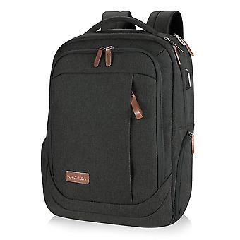 Kroser school laptop backpack large travel computer backpack for 17.3 inch laptop with usb charging