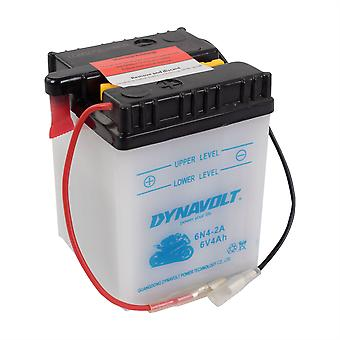 Dynavolt 6N42A Conventional Dry Charge Battery With Acid Pack