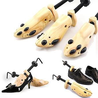 1 kpl puinen kenkäpuun muotoilijateline, säädettävät kodin laajenninpuut/naiset