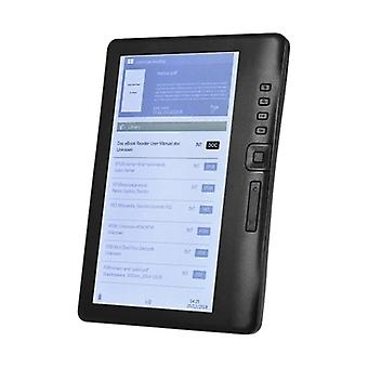 7 Inch 800 X 480p Portable E-reader, Built-in 4gb Memory Storage And 2100mah