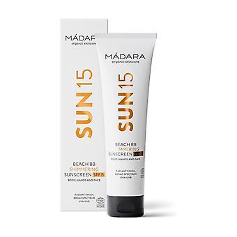 BB Cream Body Satin Face and Body SPF 15 100 ml of cream