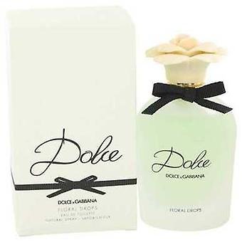 Dolce Floral Drops By Dolce & Gabbana Eau De Toilette Spray 2.5 Oz (women) V728-531777