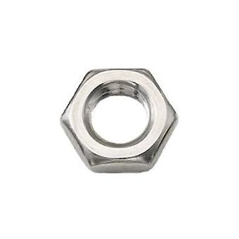 M16 Half Nut A4 Stainless Steel Din439