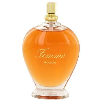 Femme Rochas Eau De Toilette Spray (Tester) By Rochas 3.3 oz Eau De Toilette Spray