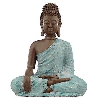 Dekorativ turkis brun buddha figur - kærlighed