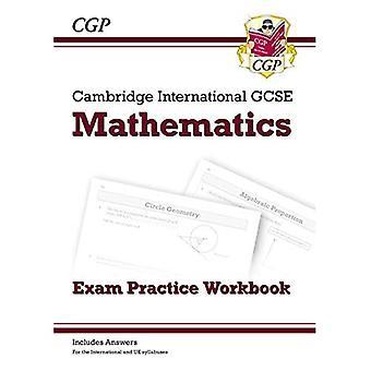 New Cambridge International GCSE Maths Exam Practice Workbook - Core & Extended