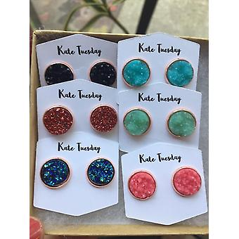 Bright Beauties Druzy Earring Box