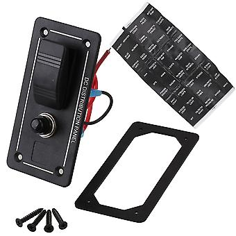 Led Circuit Surcharge Rocker Switch Panel Breakers Car Bridge PN-LB1Z 1 G