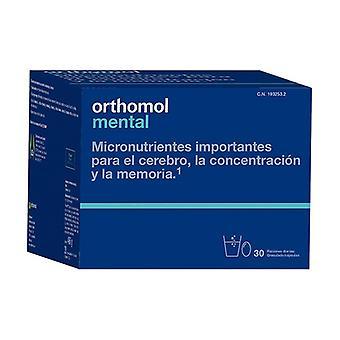 Mental Orthomol 30 tablets