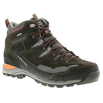 Sprayway oxna mid mens walking hiking boots grey UK Size