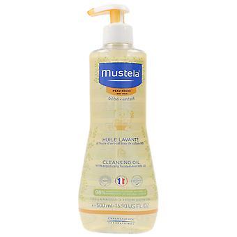 Mustela rengjøringsolje 500 ml