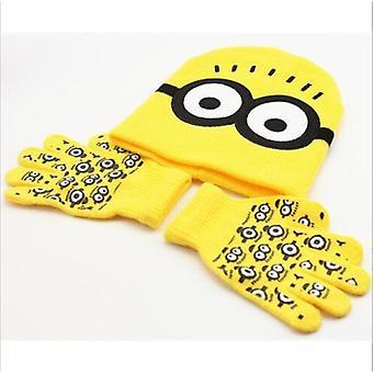Kids Knitted Cap Gloves Sets