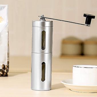 Transparent Black Mini Mill Plus   Compact & Adjustable Hand Coffee Grinder with Ceramic Burrs,