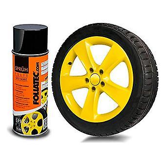Flytande gummi för bilar Foliatec Gul 400 ml