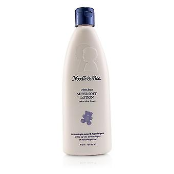Noodle & Boo Super Soft Lotion - For Face & Body - Newborns & Babies With Sensiteive Skin 473ml/16oz