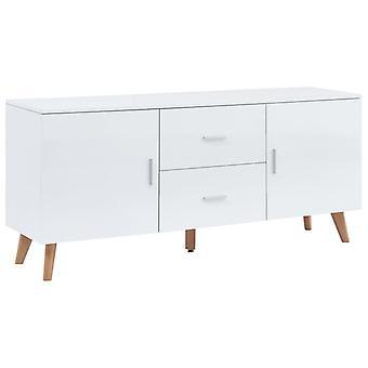 vidaXL sideboard blanc 160×40×70 cm MDF