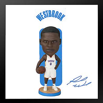 Oklahoma City Thunder Russell Westbrook Bobblehead Action Figure Statue Basketball Doll