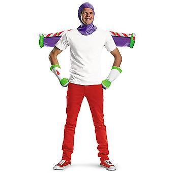 Buzz Lightyear lelu tarina 3 Hood käsineet Jet Pack miesten puku Kit