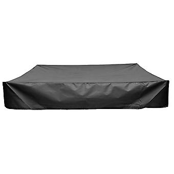 Sandbox Cover With Drawstring, Square Dust-proof Beach Sandbox Cover, Waterproof Sandpit Swimming Pool Cover