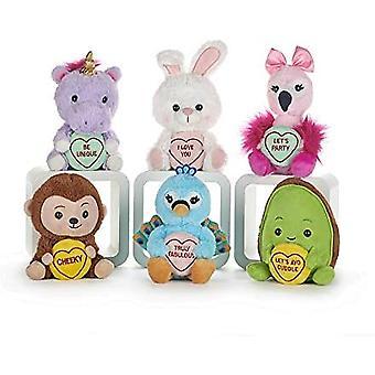 Posh Paws Love Hearts Plush Toy (Styles Vary)
