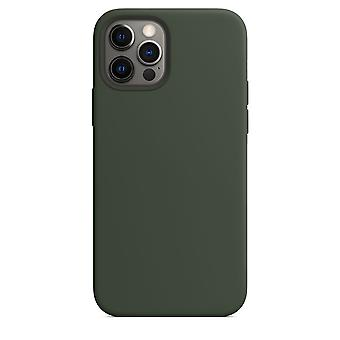 Vloeibare siliconen hoes voor iphone 12 / 12 pro