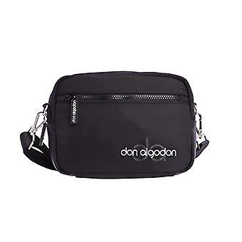 Don Algod n Zaira Women's crossbody bag, 22 x 8 x 16 cm Black Size: 22 x 8 x 16 cm
