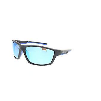 HIS HPS07107-2 - Smoke with Blue Revo Pol sunglasses