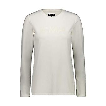 Cmp T-Shirt Long Sleeves With Logo, Woman, B.Co Plaster, 46, B.Co Plaster