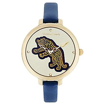 Christian Lacroix Analog Quartz Watch Woman with LEATHER STRAP CLWE05