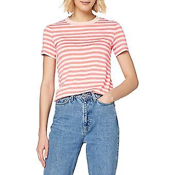 Marc O'Polo Denim M43229651163 T-Shirt, Pink (Multi/Soft Coral Y22), Large Woman