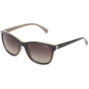 Polaroid P8339 LA Okulary, Soczewki: Brązowy zacieniony spolaryzowany, Ramka: Czarny (KIH), 55 Kobieta