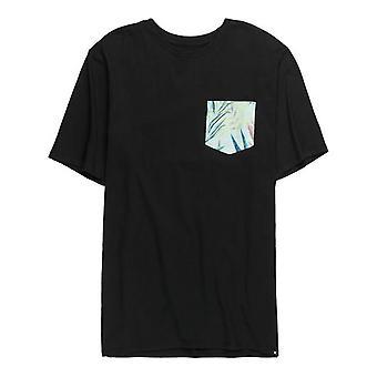 Hurley JJF Plot Maps Short Sleeve T-Shirt in Black