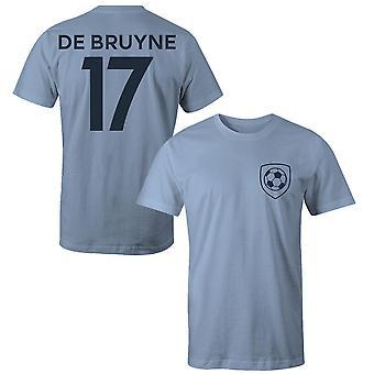 Kevin de bruyne 17 klub stil spiller t-shirt