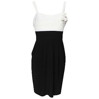 Frank Lyman Sleeveless Monochrome Dress