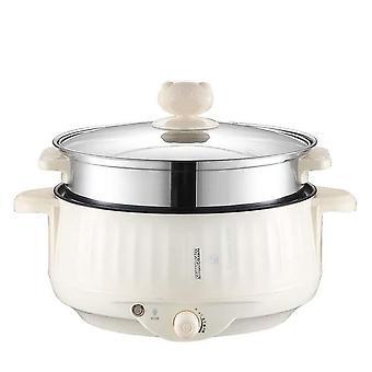 Multifunctional Electric Cooker, Heating Pan, Stew Cooking Pot, Hotpot Steamer,