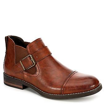 Day Five Mens Glisse sur les chaussures Chelsea Ankle Boot