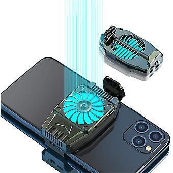 Musta h15 matkapuhelimen jäähdyttimen jäähdyttimen jäähdytyspuhaltimen jäähdytyselementti cai1285