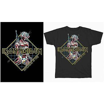 Iron Maiden - Någonstans i tiden Diamond Men's Small T-Shirt - Svart