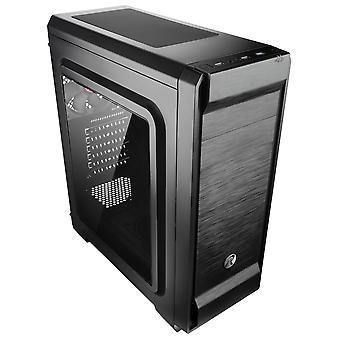Raijintek Arcadia II Midi-Tower Gaming Case - Ventana Negra