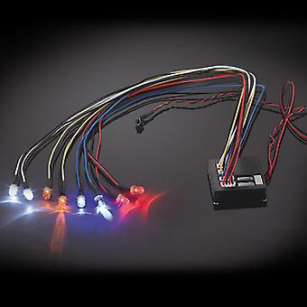 ערכת אור מהבהב Fastrax פונקציות מרובות 8-Led אור