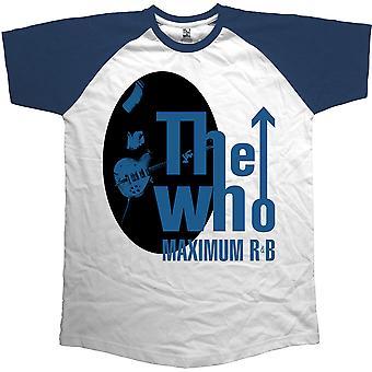 The Who - Maximum R & B Herr X-Large T-Shirt - Vit