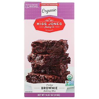 Miss Jones Baking Co Mix Brownie Org, Case of 6 X 14.67 Oz