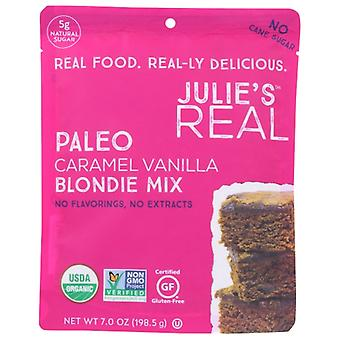 Julies Real Mix Blondie Crml Vanilla, Case of 6 X 7 Oz