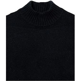 Daily Ritual Kvinnors Avslappnade Mysig Boucle Mockneck Tröja & Pennkjol 2-delars outfit