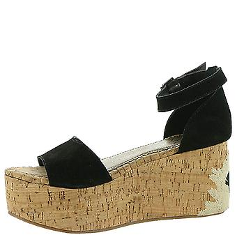 Naughty Monkey Womens Virago Open Toe Casual Ankle Strap Sandals