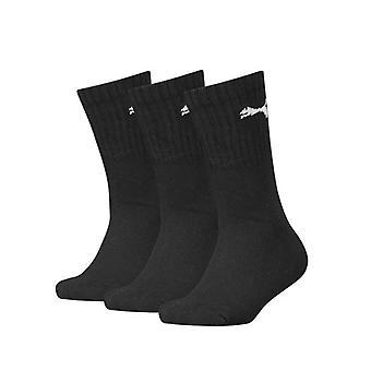 Sports Socks Puma 100000965 001 Black Children's (3 uds)