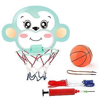 Roikkuva koripallo vannesarja lapsille, taapero seinäkiinnike Kannettava Taitettava Mini (GROUP4)