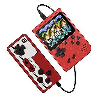 Kids Retro Mini Game Console With Gamepad(Red)