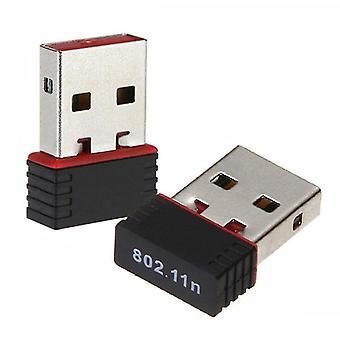 LANGATON USB 150Mbps -verkkokorttivastaanotin, langaton WIFI-vastaanotin