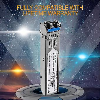 C-light Glc-lh-smd 1.25gbps Lc Connector Optic Module Sfp Transceiver With Ddm